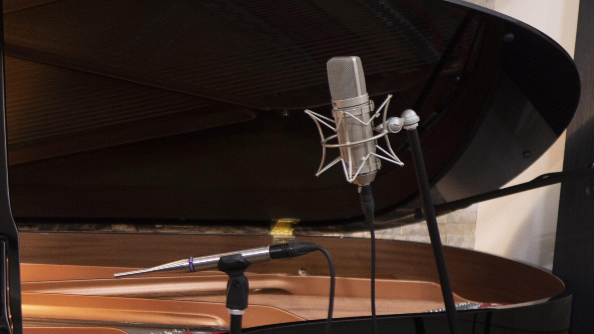 愛の夢レコーディング機材