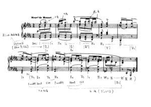 ravel sonatine menuet